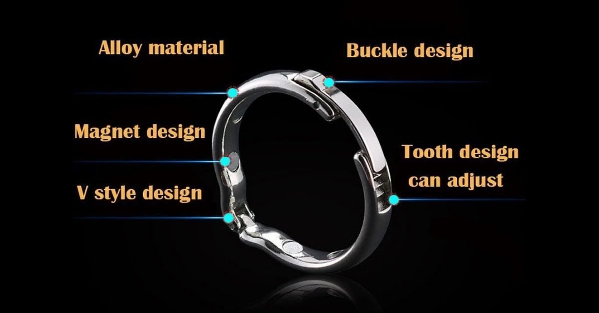 Magnetic Therapy Penis Ring