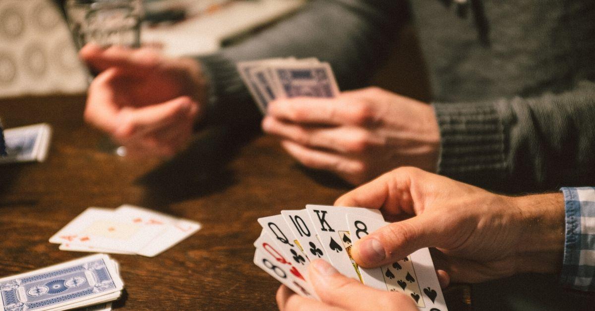 6 Guys Playing Strip Poker