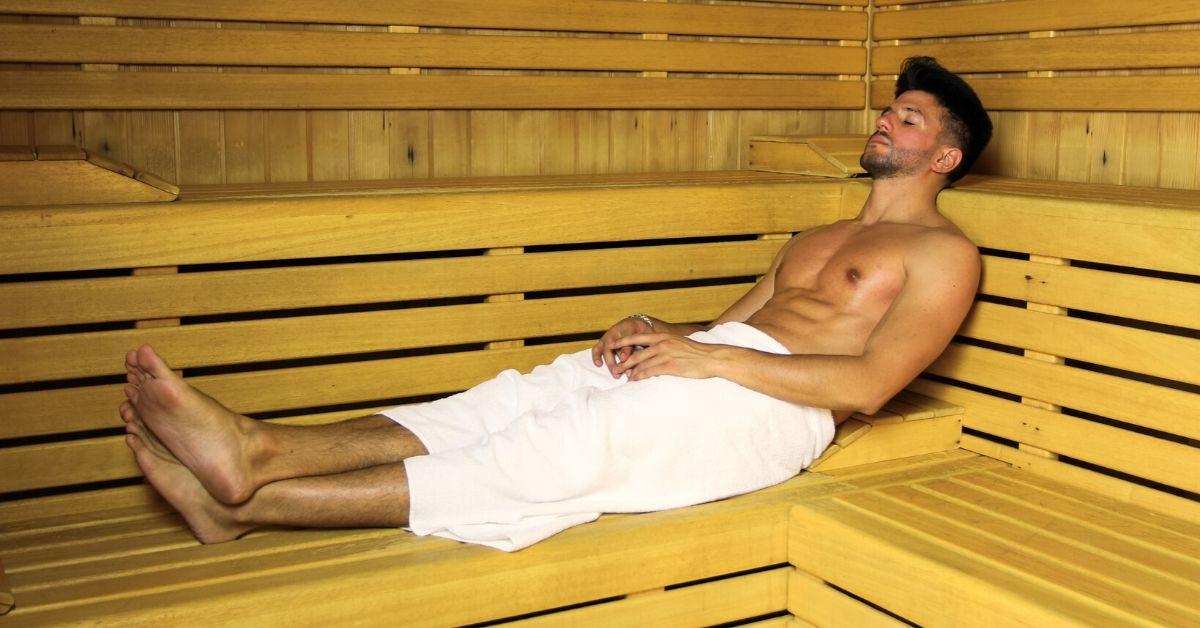 Milk Daddy at Sauna