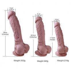 realistic shape silicone dildo (6)