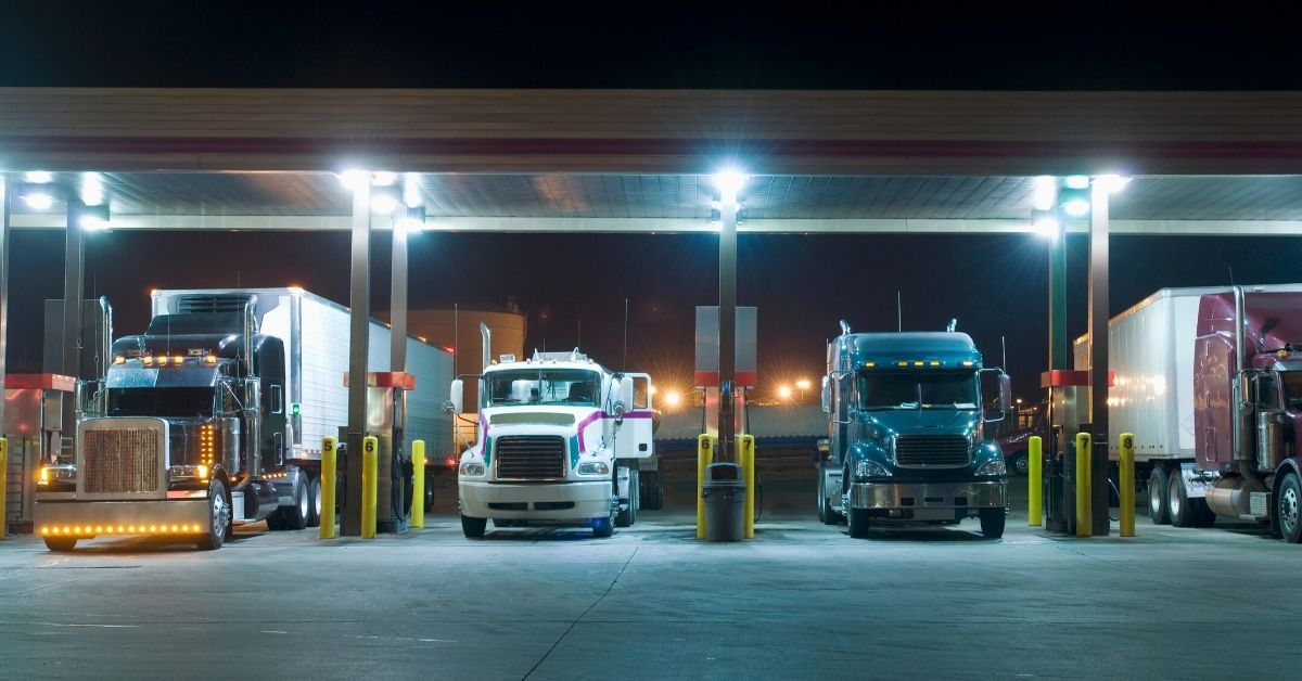 Two Truckers Line Up a Male Slut