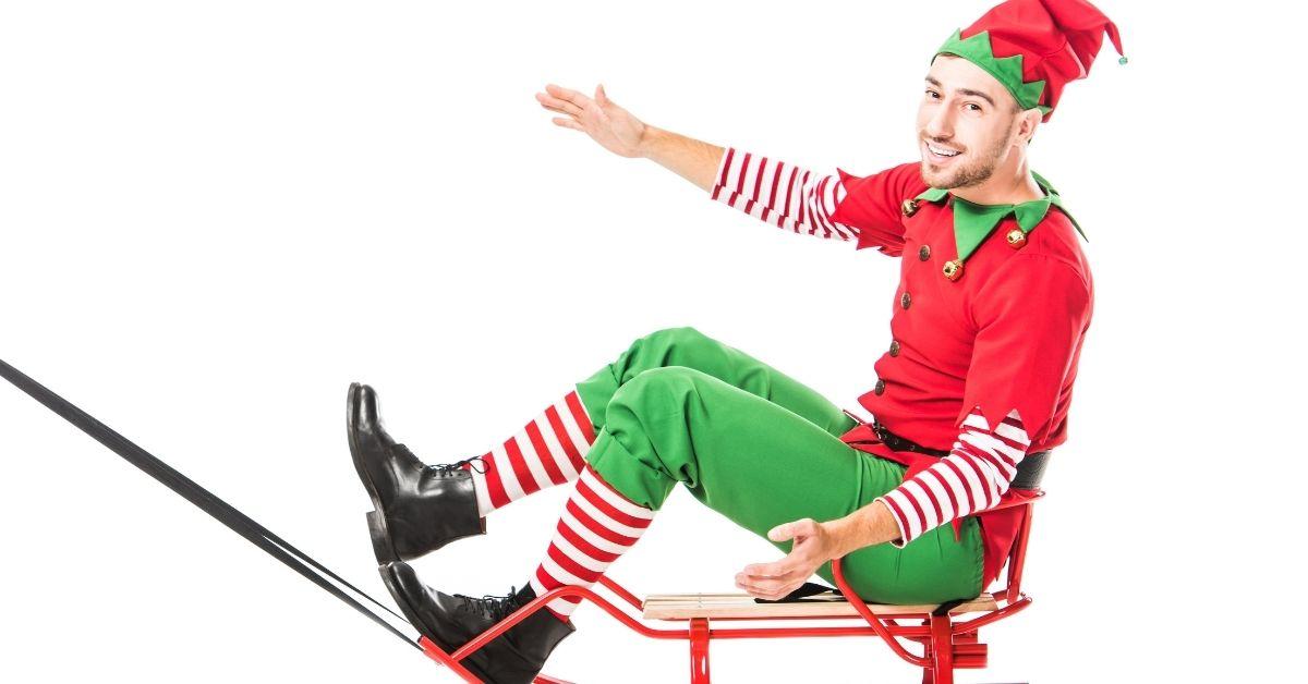 Santa Sends Me A Gay Elf