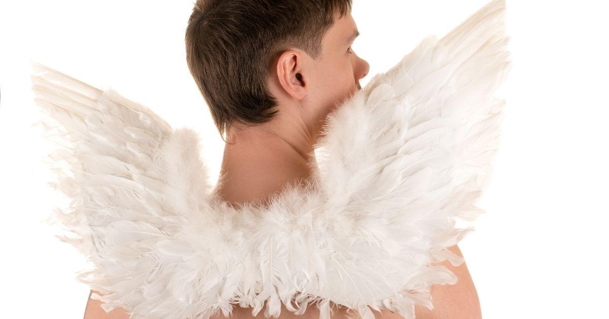 Gay Angel Comforts Me