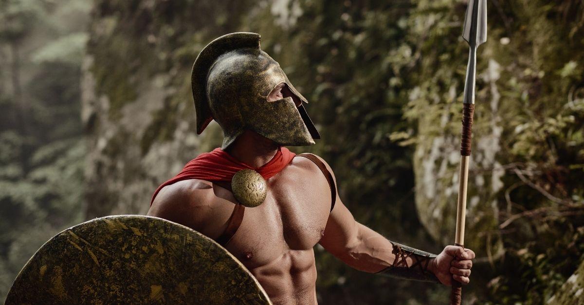 Gladiator Demands Blowjob