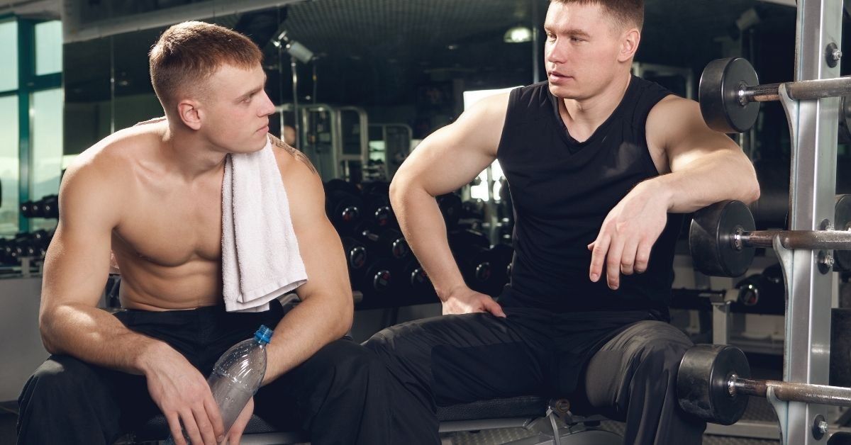 Gay Sex And Massage At The Gym