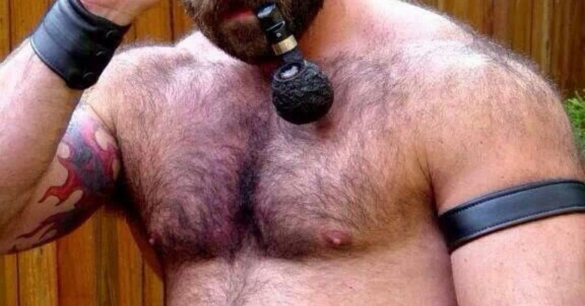 Hairy Daddy With Big Cock