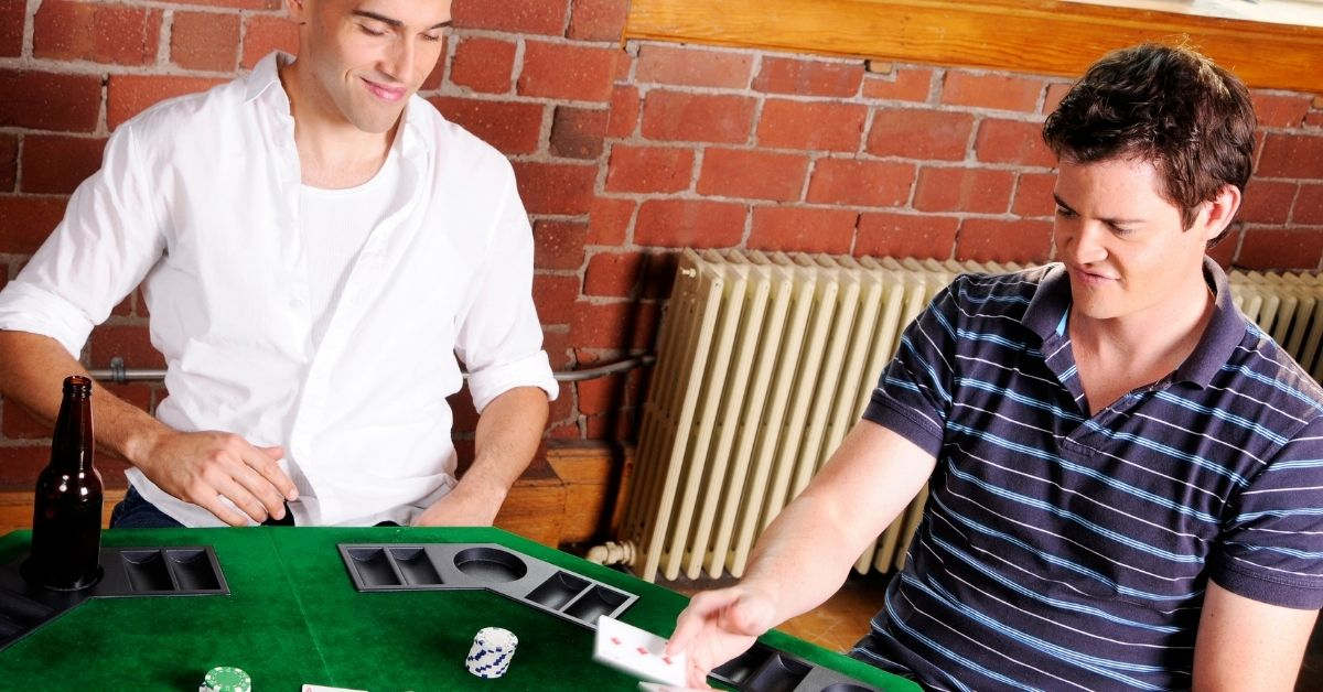 Poker With Dad's Gay Friends